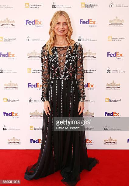 Maryam d'Abo attends the Duke of Edinburgh Award 60th Anniversary Diamonds are Forever Gala at Stoke Park on June 9 2016 in Guildford England