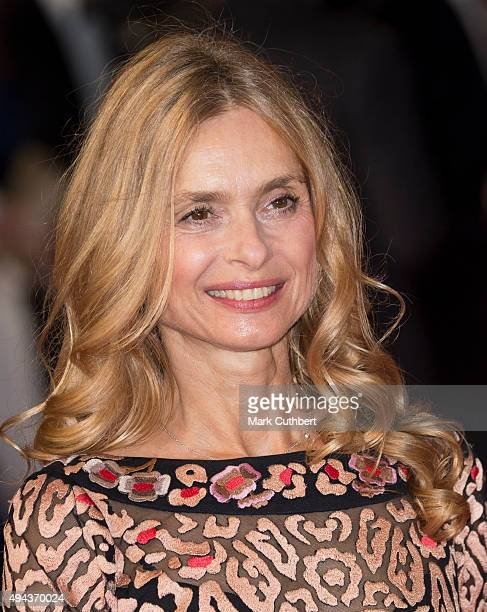 Maryam d'Abo attends the Royal Film Performance of Spectre at Royal Albert Hall on October 26 2015 in London England