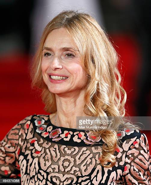 Maryam d'Abo attends the Royal Film Performance of 'Spectre' at The Royal Albert Hall on October 26 2015 in London England