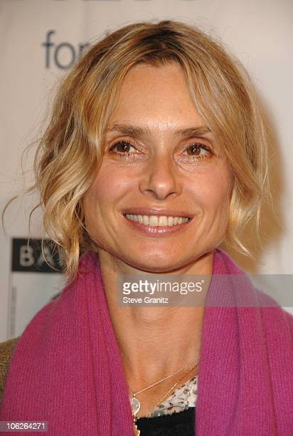 Maryam d'Abo during BAFTA/LA Awards Season Tea Party at Four Season Hotel in Los Angeles CA United States