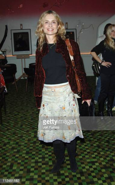 Maryam d'Abo during Kraken Opus Launch Party Inside at Sketch in London Great Britain