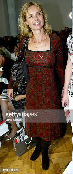 Maryam d'Abo during London Fashion Week Spring/Summer 2007 Allegra Hicks Runway and Backstage in London Great Britain