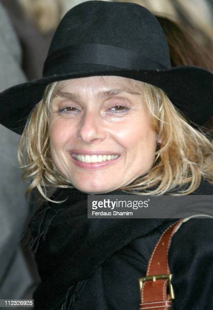 Maryam d'Abo during Movin' Out London Premiere Outside Arrivals at Apollo Victoria Theatre in London Great Britain