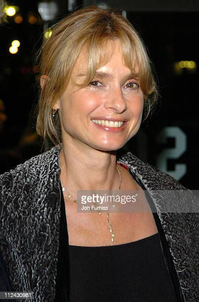 Maryam D'Abo during The Times BFI 48th Annual London Film Festival 2004 Vera Drake Premiere Inside Arrivals at Odeon Leicester Square in London Great...
