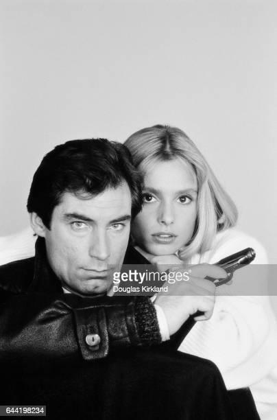 Maryam D'Abo plays Kara Milovy and Timothy Dalton plays James Bond in the 1987 John Glen film The Living Daylights