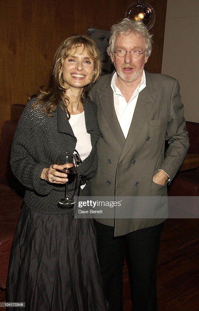 Maryam D'Abo With Husband Hugh Hudson, Bond Girls Are Forever Book Launch At Osla Restaurant, In Haymarket, London