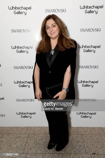 Maryam Eisler attends a glamorous gala dinner at Whitechapel Gallery as Rachel Whiteread is celebrated as the recipient of the Whitechapel Gallery...