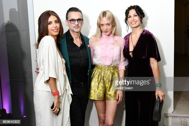 Maryam L'Ange Dave Gahan Chloe Sevigny and Jennifer SkliasGahan attend Planned Parenthood Of New York City Spring Gala Honoring Cecile Richards And...