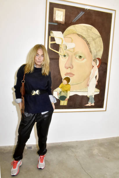 """FRA: """"Eyes Closed"""" Exhibition At  Galerie Perrotin"""