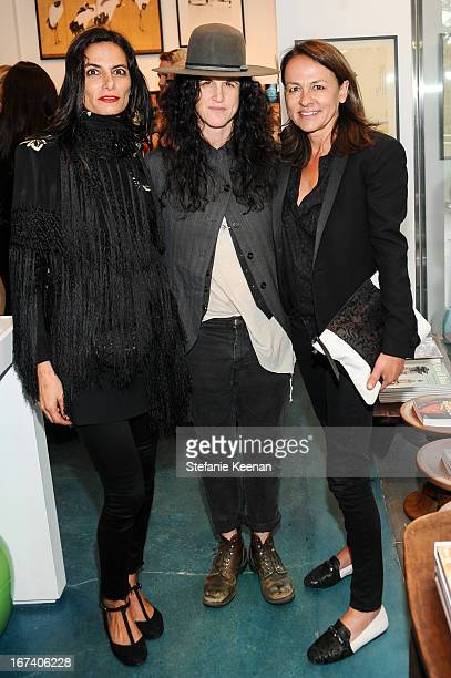 Maryam Malakpour Amanda Demme and Marjan Malkapour attend Director's Circle Celebrates Wear LACMA Sponsored By NETAPORTER And W at LACMA on April 24...