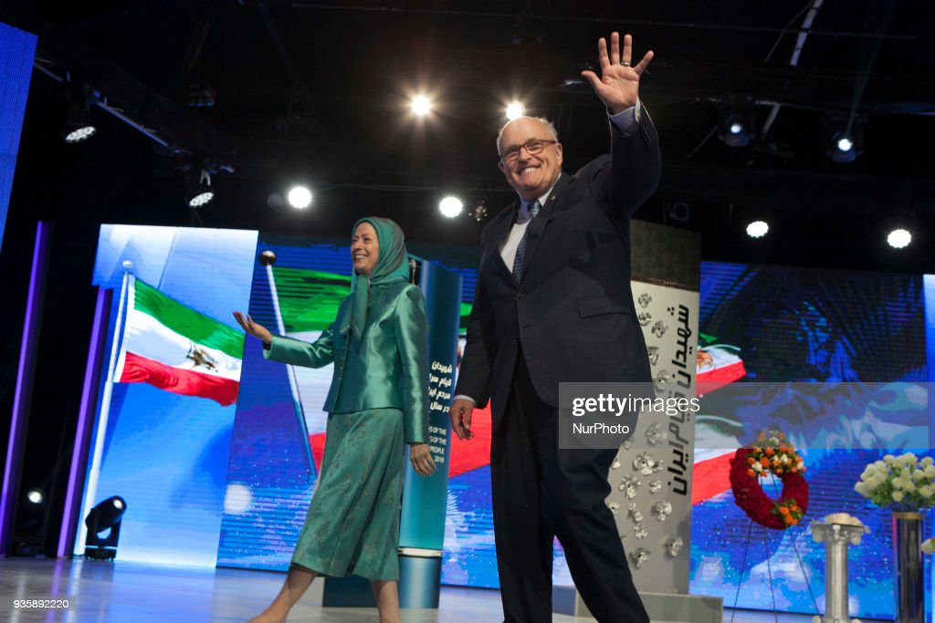 Iranian opposition celebrate Nowruz In Tirana : News Photo
