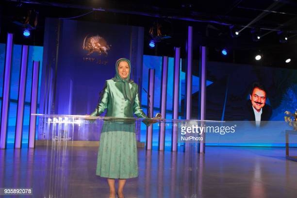 Maryam Rajavi attends celebration of Nowruz the Iranian New Year on March 20 there was a gathering of Iranians Resistance and supporters in Tirana...