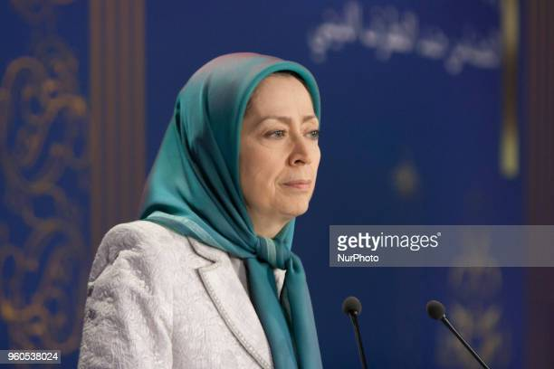 Maryam Rajavi in AuverssurOise France on 19 May 2018 An International gathering on the advent of the Holy Month of Ramadan entitled Message of Islam...