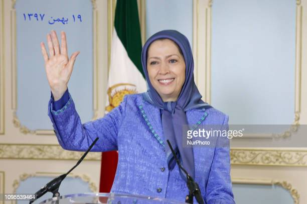 Maryam Rajavi Paris France On the occasion of 40 years after the revolution in Iran Maryam Rajavi the Presidentelect of the Iranian Resistance in a...