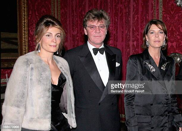 Maryam Sachs Prince Ernst August and Princesse Caroline De Hanovre at Private View Of The Exhibition Quand Versailles Etait Meuble D' Argent At...