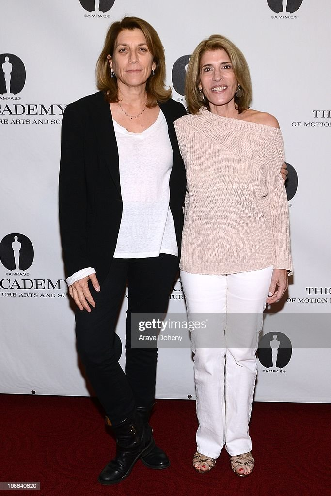 Maryann Brandon and Mary Jo Markey attend 'Turning The Page: Storytelling in the Digital Age' presented by The Academy Of Motion Pictures Arts And Sciences at the Academy of Motion Picture Arts and Sciences on May 15, 2013 in Beverly Hills, California.