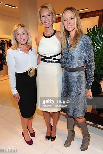 Maryann Weisberg Philanthropist Cheryl Saban and 20th Century Fox Television Chairman Dana Walden attend a luncheon benefiting the Saban Free Clinic...