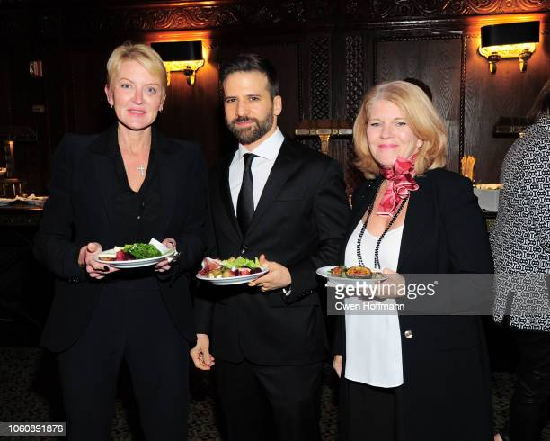 Marybeth Wise Aaron Boxer and Marybeth Montague attends Silver Hill Hospital 2018 Giving Hope Gala at Cipriani 42nd Street on November 13 2018 in New...