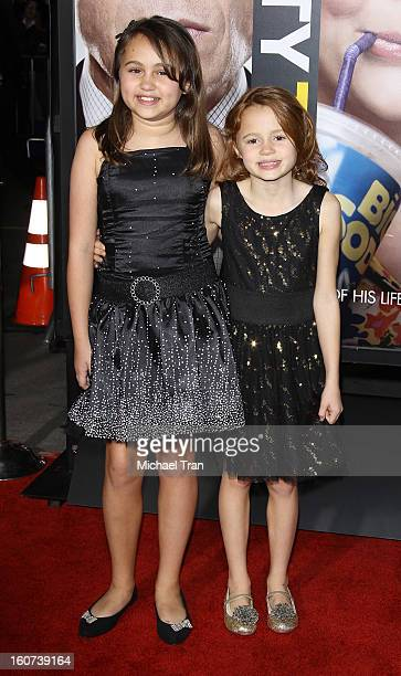 """Mary-Charles Jones and Maggie Elizabeth Jones arrive at the Los Angeles premiere of """"Identity Thief"""" held at Mann Village Theatre on February 4, 2013..."""