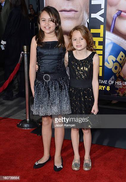 MaryCharles Jones and Maggie Elizabeth Jones attend the Premiere Of Universal Pictures' Identity Thief on February 4 2013 in Westwood California