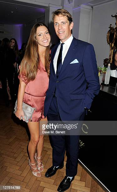 MaryClare Winwood and Ben Elliot attend the Quintessentially Awards 2011 at One Marylebone on September 28 2011 in London England
