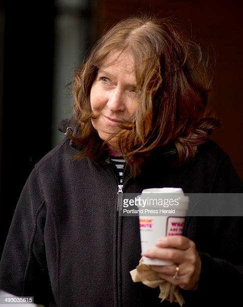 Maryellen O'Toole, a school nurse, said she always drinks Dunkin Donuts coffee from a styrofoam cup, photographed outside the Dunkin Donuts at One...