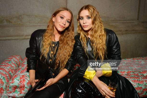 MaryKate Olsen and Ashley Olsen attend The 2019 Met Gala Celebrating Camp Notes on Fashion at Metropolitan Museum of Art on May 06 2019 in New York...