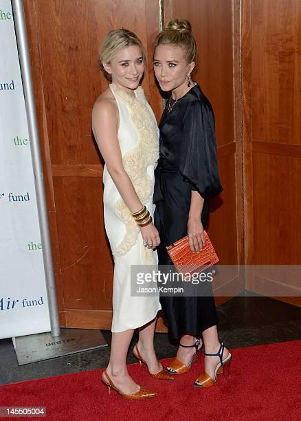 MaryKate Olsen and Ashley Olsen attend The Fresh Air Funds Salute To American Heroes at Pier Sixty at Chelsea Piers on May 31 2012 in New York City