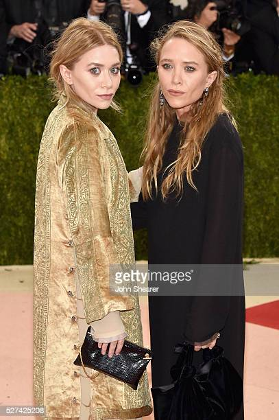 MaryKate Olsen and Ashley Olsen attend the 'Manus x Machina Fashion In An Age Of Technology' Costume Institute Gala at Metropolitan Museum of Art on...
