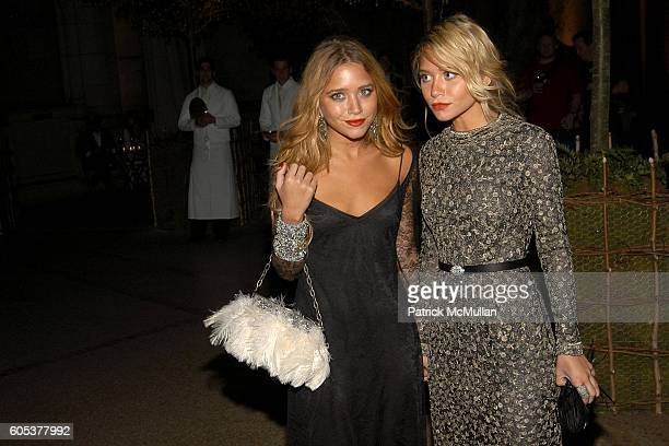 MaryKate Olsen and Ashley Olsen attend THE METROPOLITAN MUSEUM OF ART Costume Institute Spring 2006 Benefit Gala celebrating the exhibition...