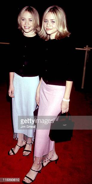 MaryKate Olsen and Ashley Olsen during Anna and the King Los Angeles Premiere at Mann Chinese Theatre in Hollywood California United States