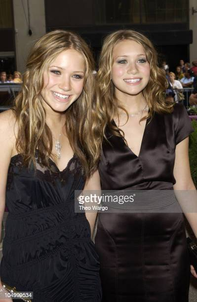 MaryKate Olsen and Ashley Olsen during The 29th Annual Daytime Emmy AwardsArrivals at Madison Square Garden in New York City New York United States