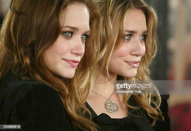 MaryKate Olsen and Ashley Olsen during The Last Samurai Los Angeles Premiere at Mann's Village Theater in Westwood California United States