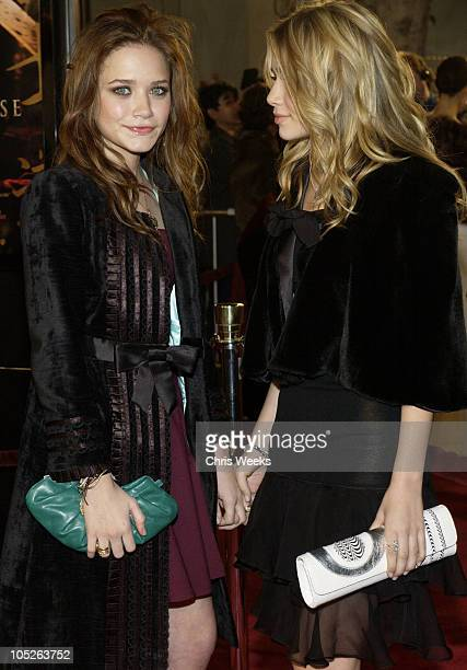 """Mary-Kate Olsen and Ashley Olsen during """"The Last Samurai"""" - Los Angeles Premiere at Mann's Village Theater in Westwood, California, United States."""