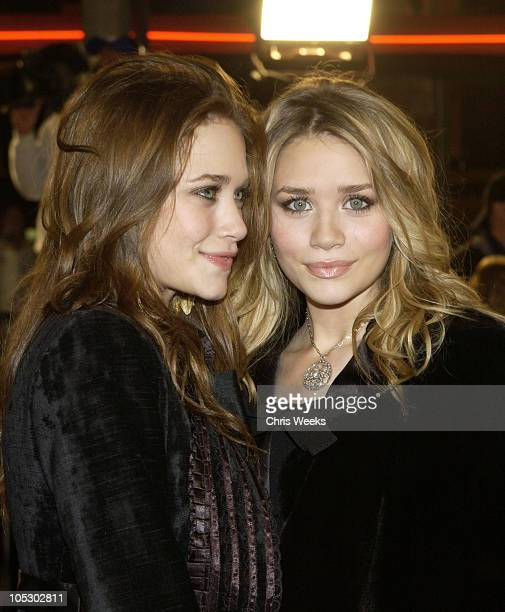 MaryKate Olsen and Ashley Olsen during 'The Last Samurai' Los Angeles Premiere at Mann's Village Theater in Westwood California United States