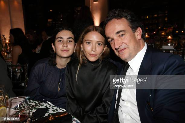 MaryKate Olsen and Olivier Sárközy attend the 2018 Glasswing International Gala at Tribeca Rooftop on April 26 2018 in New York City