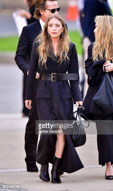 MaryKate Olsen arrives to the 2018 CFDA Fashion Awards at Brooklyn Museum on June 4 2018 in New York City