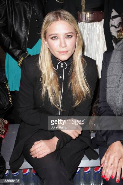 MaryKate Olsen attends Diet Pepsi Style Studio fashion Show Presented By Simon Doonan at Lincoln Center on February 9 2012 in New York City