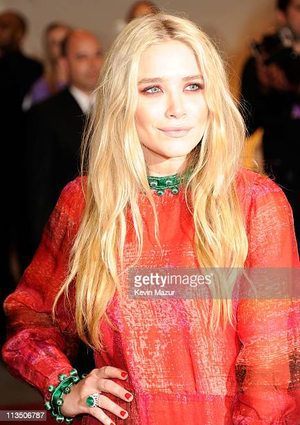 MaryKate Olsen attends the 'Alexander McQueen Savage Beauty' Costume Institute Gala at The Metropolitan Museum of Art on May 2 2011 in New York City