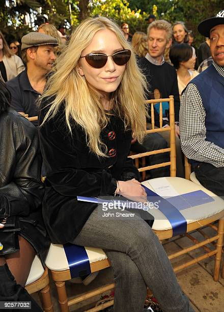 LOS ANGELES CA OCTOBER 30 MaryKate Olsen attends the CFDA/Vogue Fashion Fund Event at Chateau Marmont on October 30 2009 in West Hollywood California