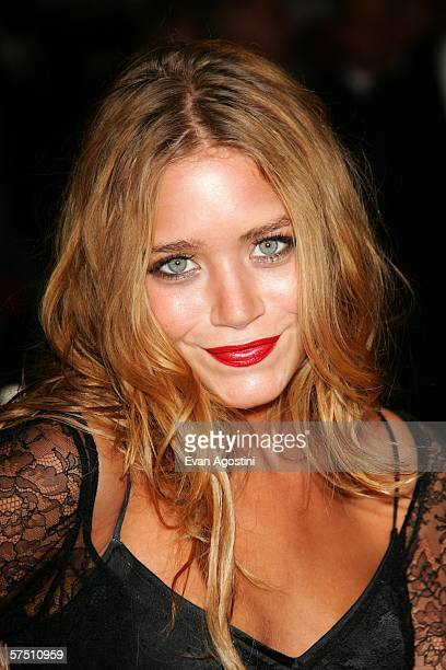 MaryKate Olsen attends the Metropolitan Museum of Art Costume Institute Benefit Gala Anglomania at the Metropolitan Museum of Art May 1 2006 in New...