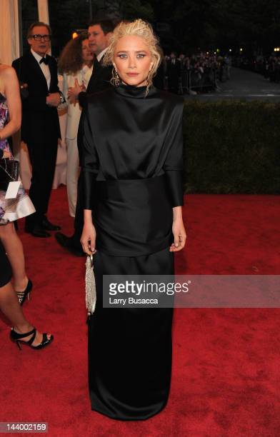 MaryKate Olsen attends the 'Schiaparelli And Prada Impossible Conversations' Costume Institute Gala at the Metropolitan Museum of Art on May 7 2012...