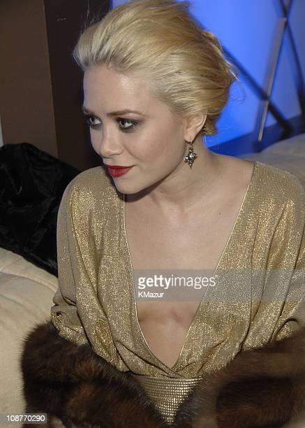 Mary-Kate Olsen during In Style and Warner Bros. 2007 Golden Globe After Party - Inside at Beverly Hilton Hotel in Beverly Hills, California, United...