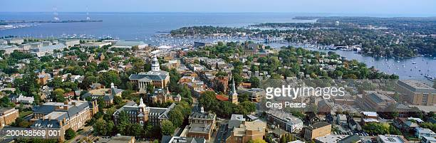 USA, Maryland, Annapolis, aerial view