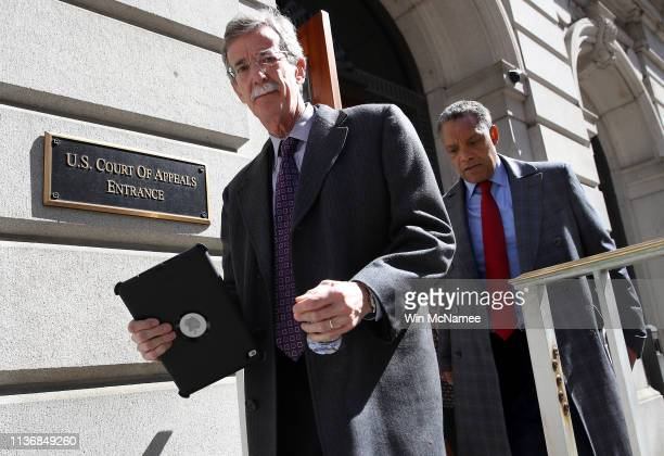 Maryland Attorney General Brian Frosh and District of Columbia Attorney General Karl Racine departs the United States Court of Appeals for the Fourth...