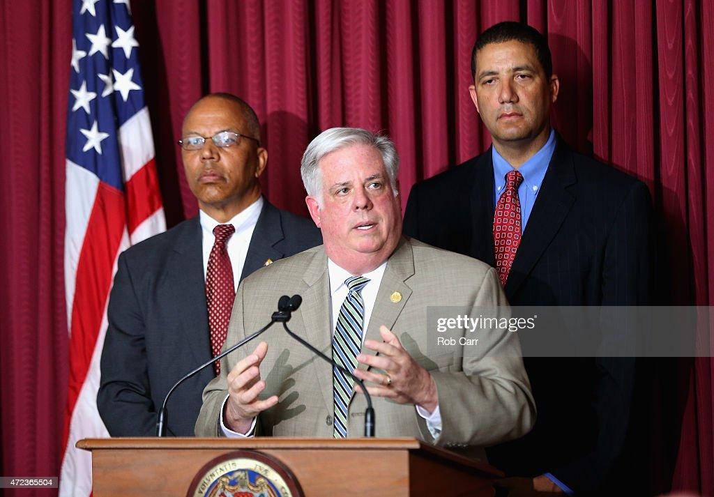 Maryland Gov. Larry Hogan Rescinds State Of Emergency In Baltimore : Fotografía de noticias