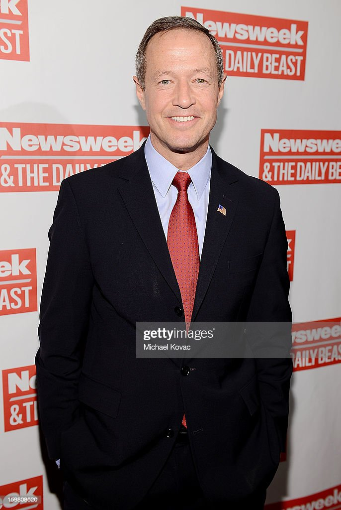 Maryland Governor Martin O'Malley attends The Daily Beast Bi-Partisan Inauguration Brunch at Cafe Milano on January 20, 2013 in Washington, DC.