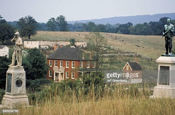 Maryland Sharpsburg Antietam National Battlefield Civil War Memorial Sherick House
