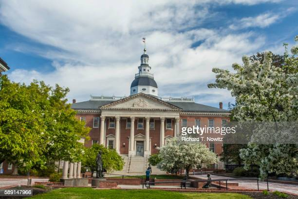 maryland state house - maryland us state stock pictures, royalty-free photos & images