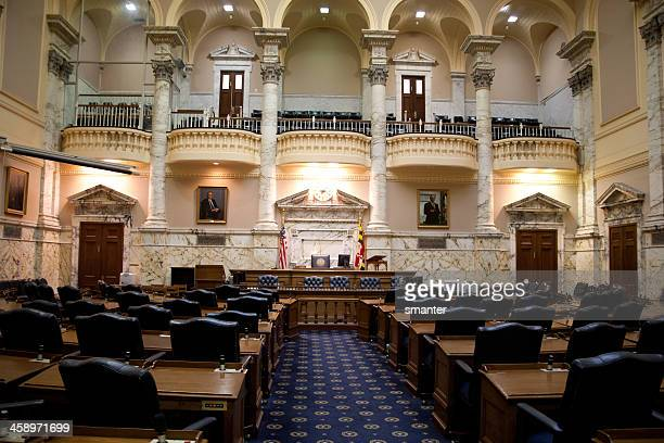 Maryland State House Senate Chambers